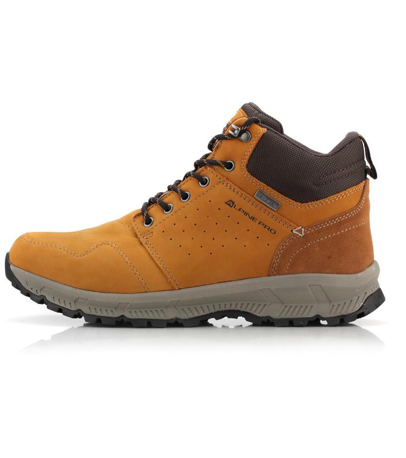 ALPINE PRO BAHRAM Pánská městská obuv MBTM150201 Sunflower