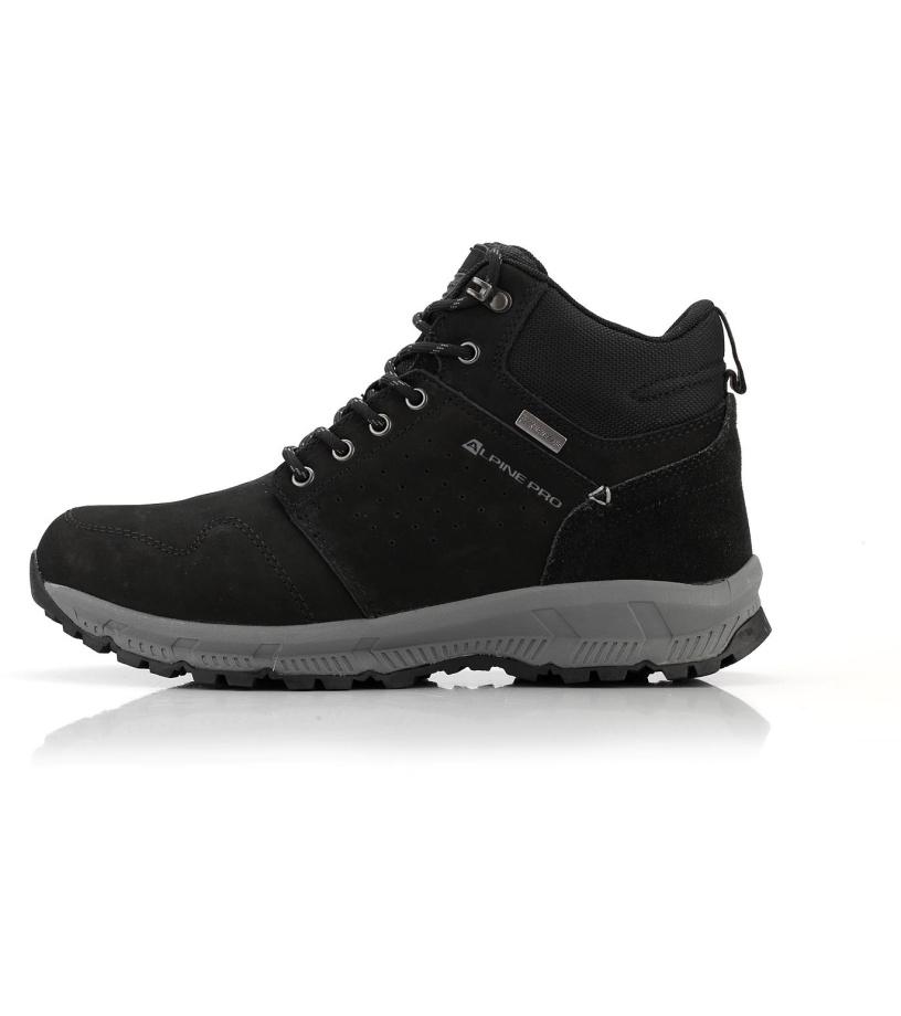 ALPINE PRO BAHRAM Pánská městská obuv MBTM150990 černá