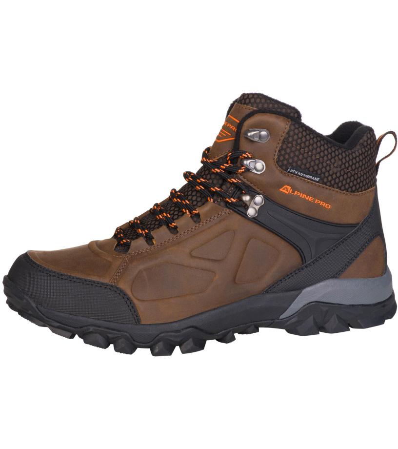 ALPINE PRO BABBL Uni outdoorová obuv UBTM173996 hnědá