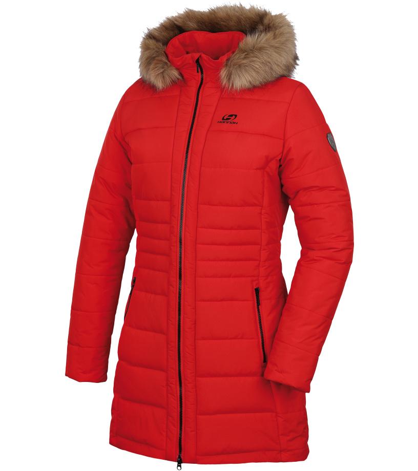 HANNAH MEX Dámský zimní kabát 10007325HHX01 high risk red 34