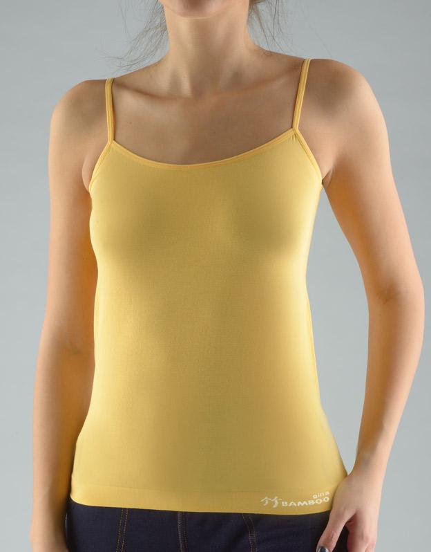 GINA Dámská košilka 08988-LYOMxB Angreštová-bílá L/XL