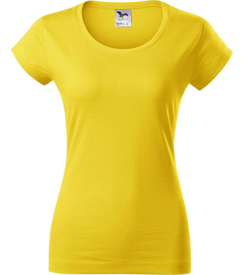 ADLER VIPER Dámské triko 16104 žlutá