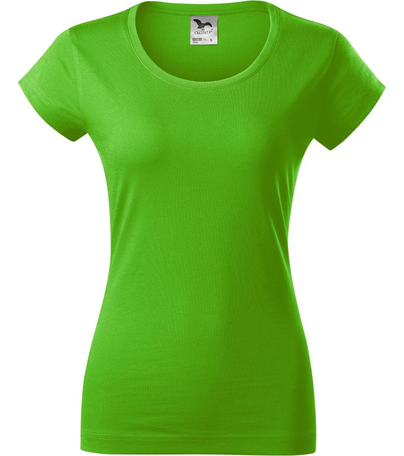 ADLER VIPER Dámské triko 16192 zelené jablko