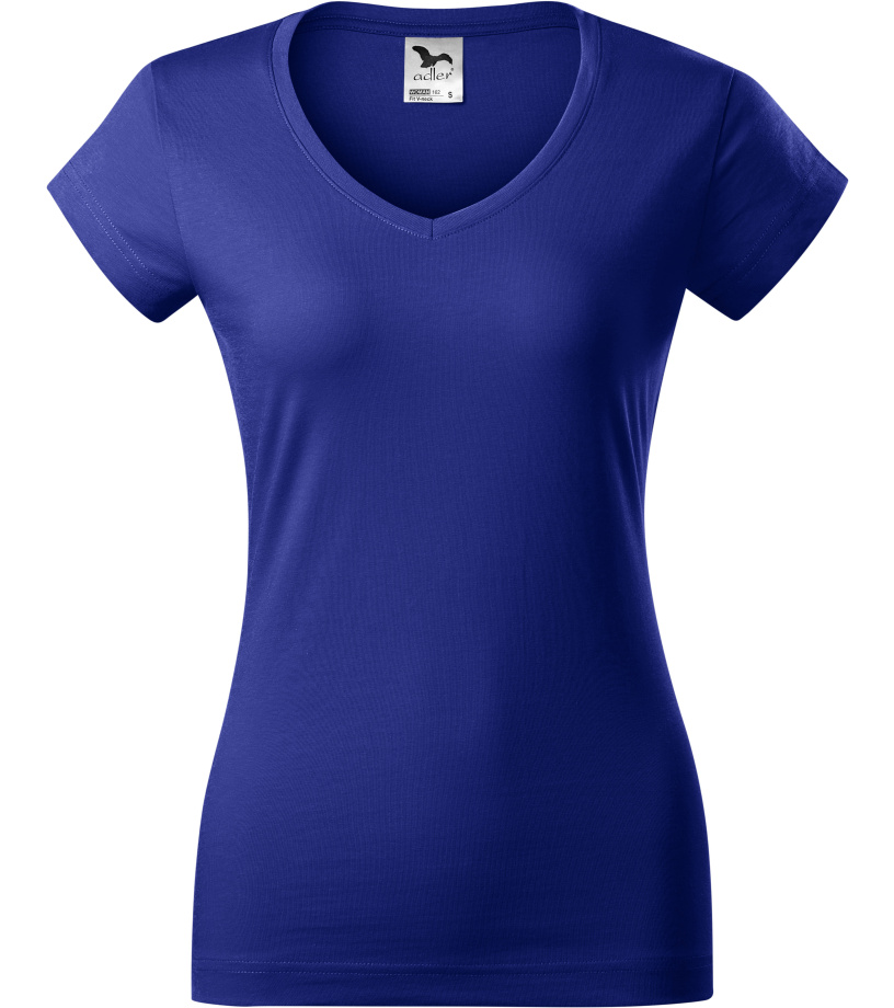 ADLER FIT V-NECK Dámské triko 16205 královská modrá