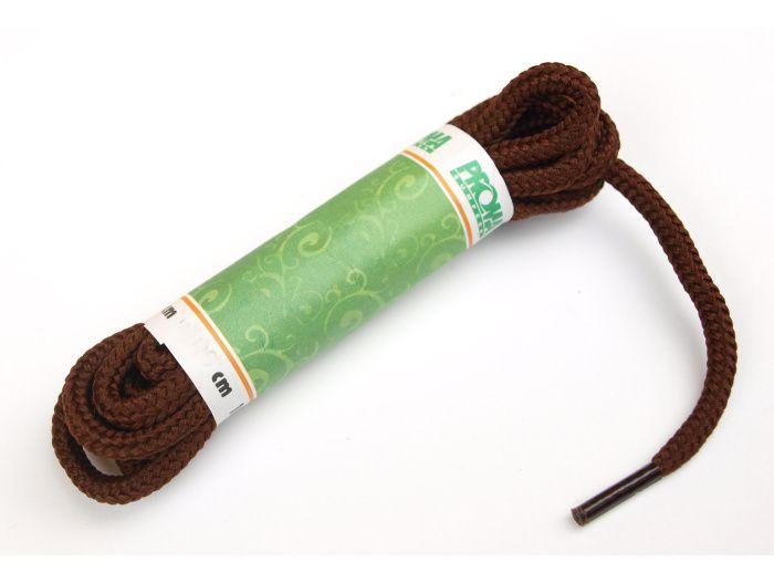 PROMA Šněrovadla (tkaničky) SPORT kulatá 170p3838 hnědá 120 cm