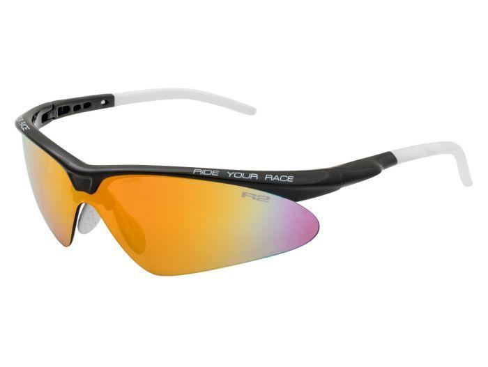 R2 FLIP Sportovní sluneční brýle AT083A černá