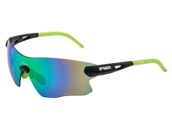 R2 SPIN Sportovní sluneční brýle AT084C černá