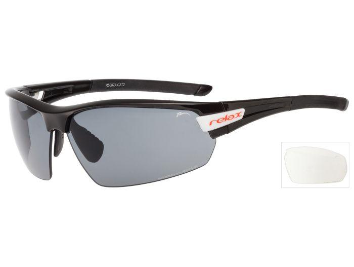 RELAX Imbros Sportovní sluneční brýle R5387A černá