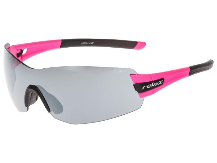 RELAX Sarnia Sportovní sluneční brýle R5388C růžová