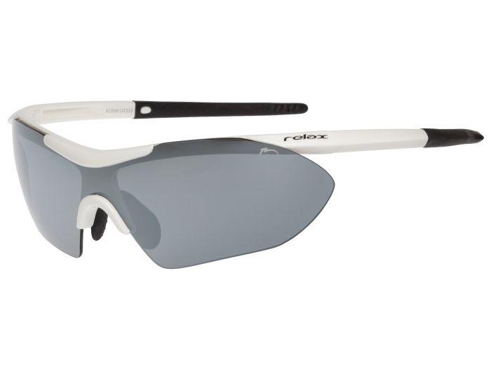 RELAX Amorgos Sportovní sluneční brýle R5390C bílá