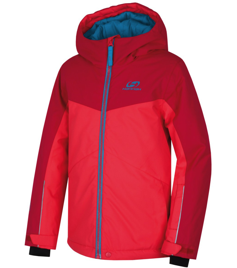 HANNAH RAFFAELA JR Dětská lyžařská bunda 10000260HHX01 teaberry/jazzy 140