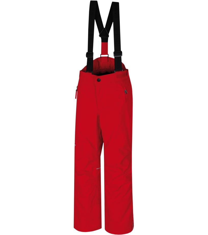 HANNAH AMIDALA JR II Dětské lyžařské kalhoty 10000268HHX01 Racing red