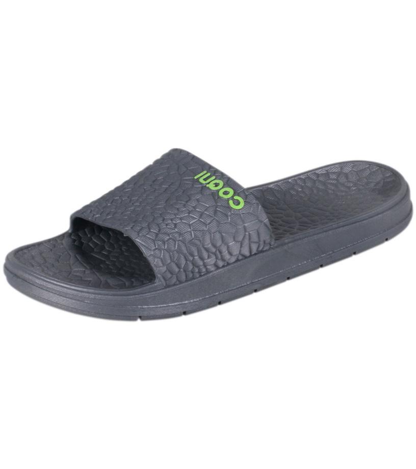 COQUI RUNE Pánské pantofle 5071-365 Dk.grey 40/41