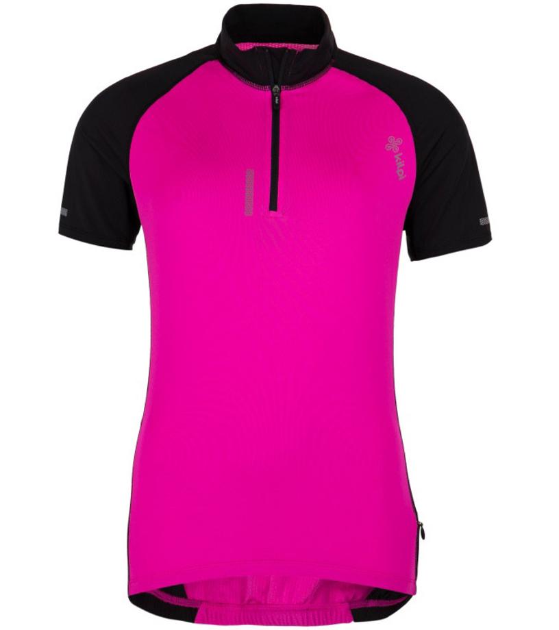 KILPI Dámský cyklistický dres RUSHA-W GL0014KIPNK Růžová