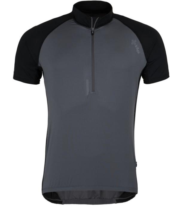 KILPI Pánský cyklistický dres CHASER-M GM0021KIDGY Tmavě šedá