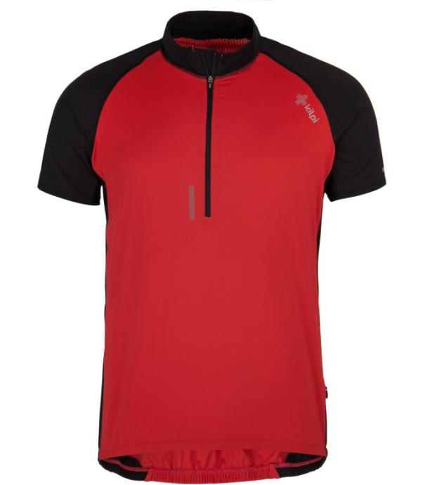KILPI Pánský cyklistický dres CHASER-M GM0021KIRED Červená