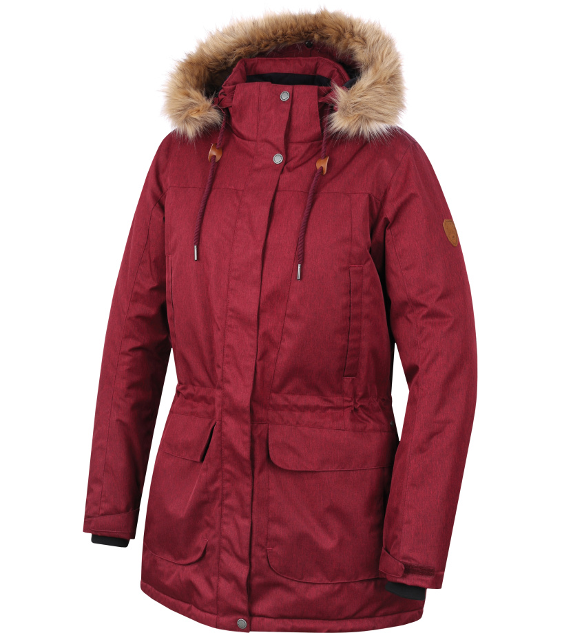 HANNAH GALIANO II Dámský kabát 10000171HHX01 garnet mel