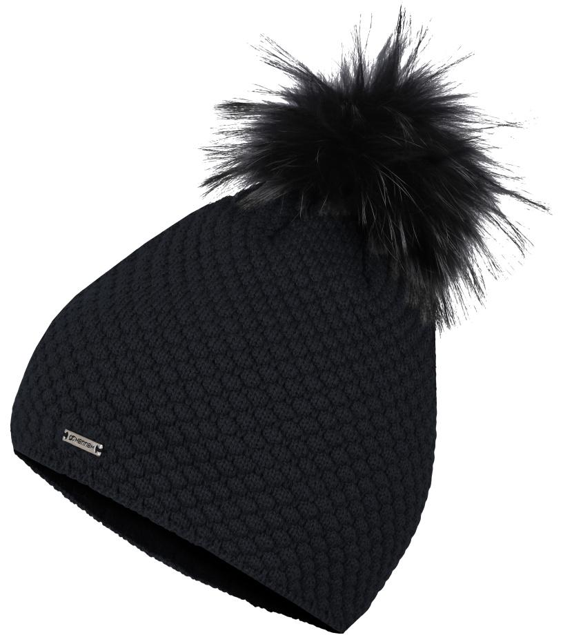 f57c2b108ff HANNAH KATARINA Dámská zimní čepice 10000308HHXL01 anthracite UNI