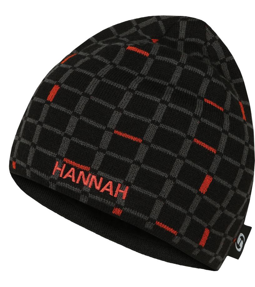 HANNAH TODOR Zimní čepice 10000342HHX01 Anthracite (orange)