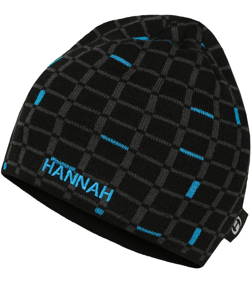 HANNAH TODOR Zimní čepice 10000344HHX01 Anthracite (blue)