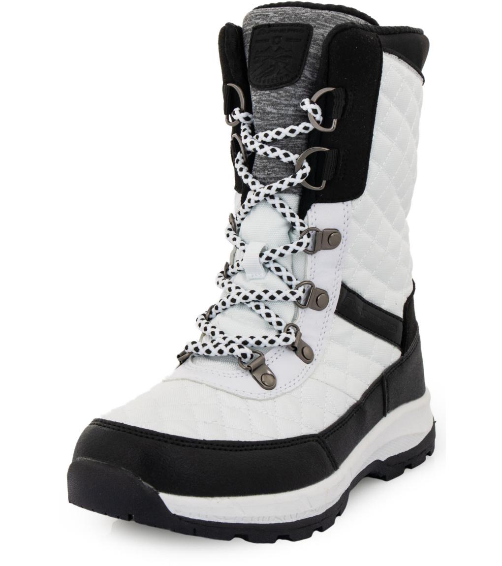 ALPINE PRO ROSSA Dámská zimní obuv LBTS287000G bílá 38