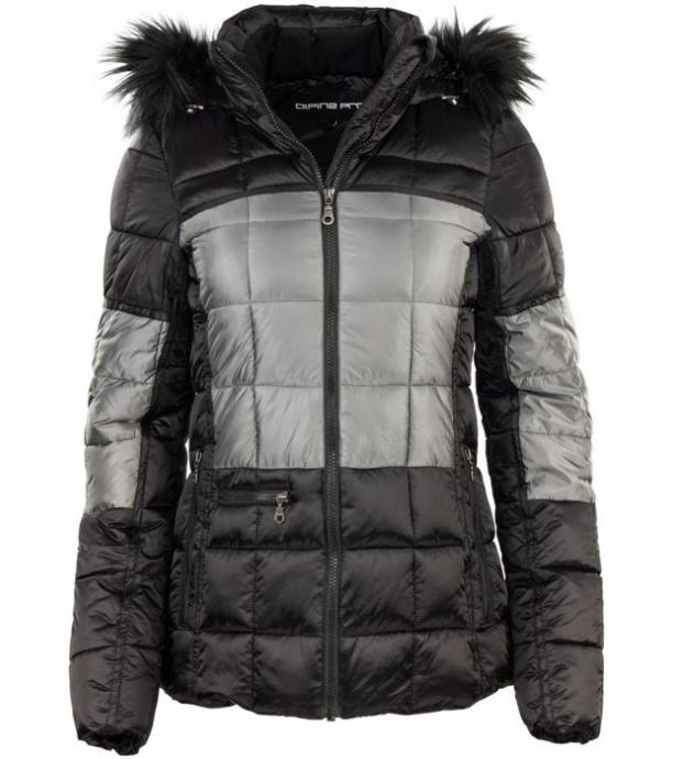 ALPINE PRO ANDREZA 2 Dámská zimní bunda LJCP318990R černá L
