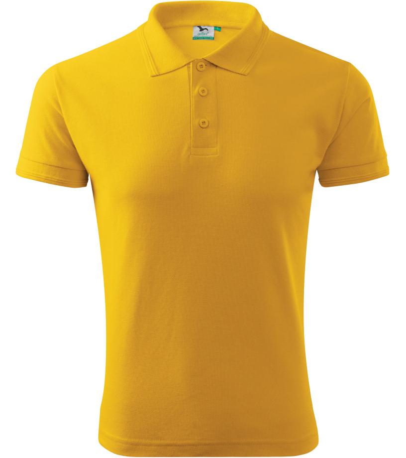 ADLER Pique Polo Polokošile 20304 žlutá S