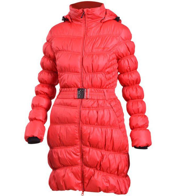 NORTHFINDER BRETTANHY Dámský kabát BU-4327-1SP360 červená S