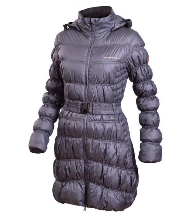 NORTHFINDER BRETTANHY Dámský kabát BU-4327-1SP6256 šedá L