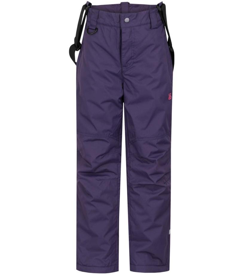 LOAP ZULA Dětské lyžařské kalhoty L6111K11K fialová 134 + sleva 20% pro registrované