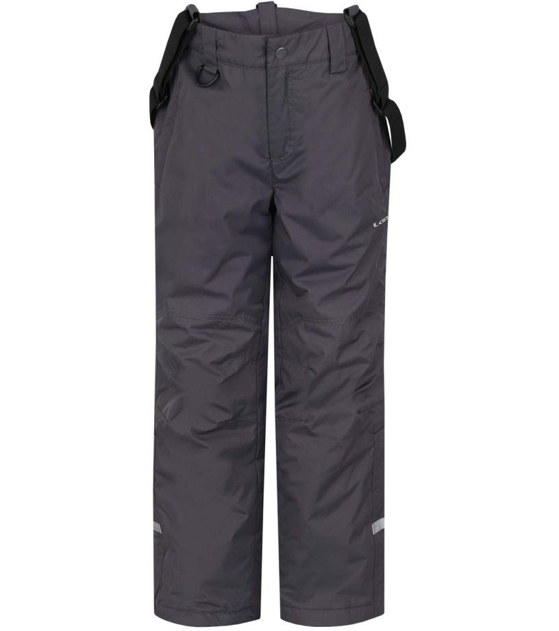 LOAP ZULA Dětské lyžařské kalhoty L6111T73T šedá 146