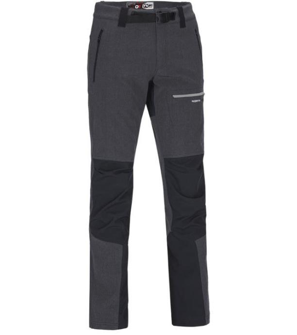 NORTHFINDER PAULO Pánské softshellové kalhoty NO-3232OR269 černá XXXL