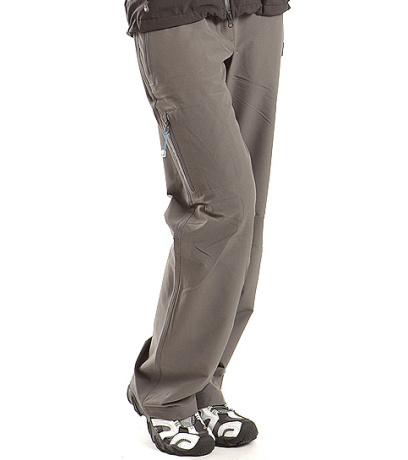 ALPINE PRO MURIA Dámské softshell kalhoty WPAA008778 cínová 42