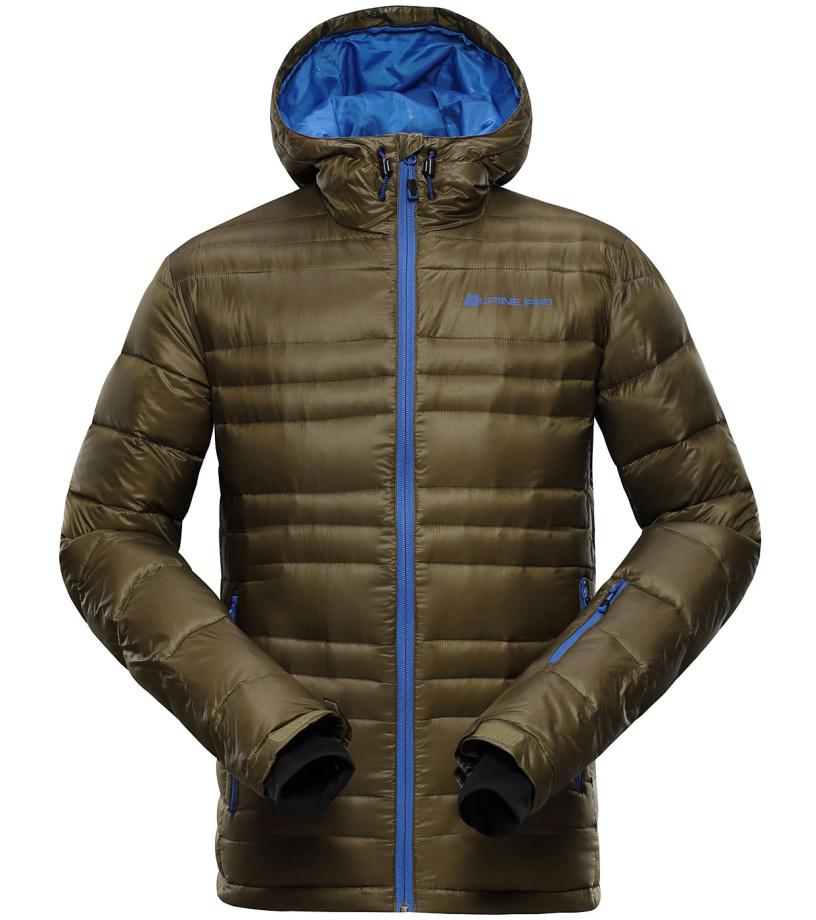 ALPINE PRO ISKUT Pánská bunda MJCH101116 nutria XL