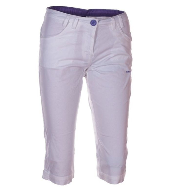 KILPI Dámské 3/4 kalhoty CHENA VII. AL0057ENWHT Bílá 42