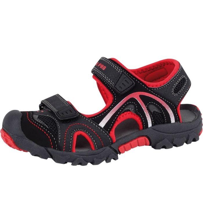 ALPINE PRO ARCADIA KIDS Dětské sandály KBTC004990 černá 35