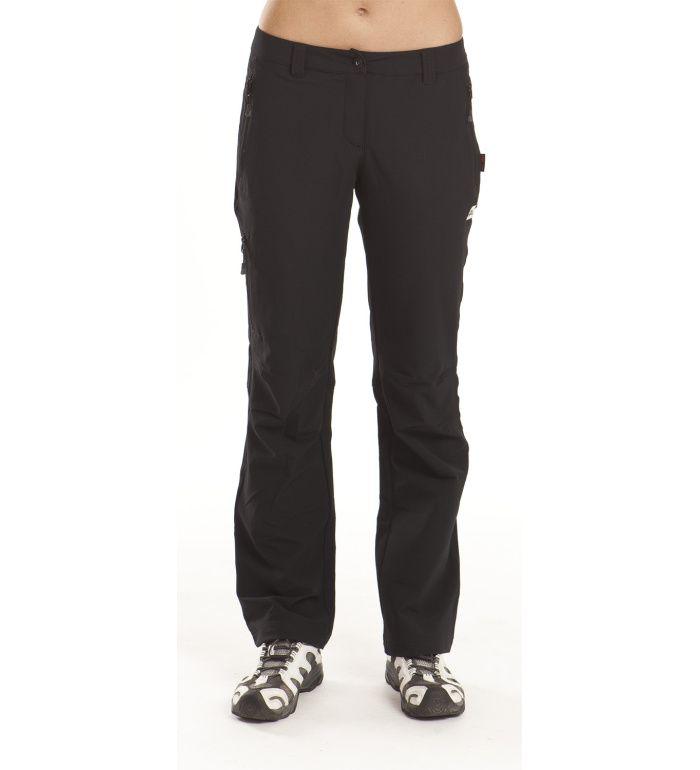 ALPINE PRO MURIA Dámské softshell kalhoty LPAC027990 černá 44-LN