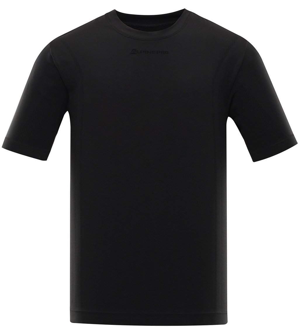 ALPINE PRO BAMB Pánské spodní funkční triko MUNR054990 černá M-L