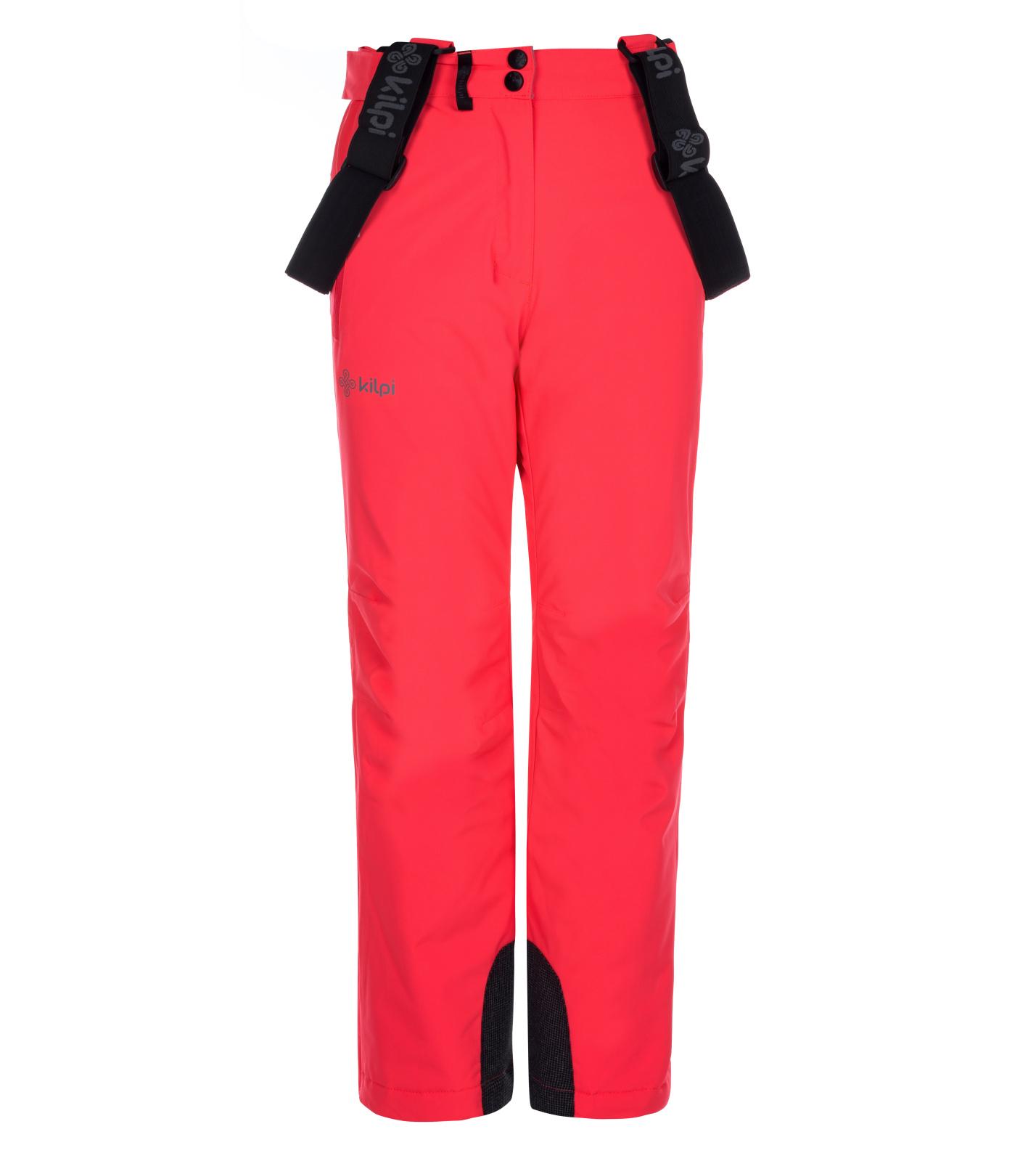 KILPI Dívčí lyžařské kalhoty EUROPA-JG LJ0006KIPNK Růžová 134