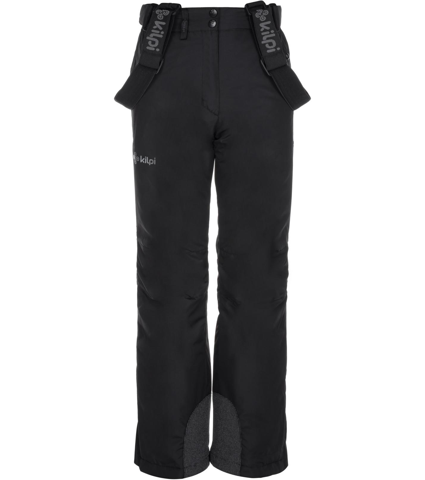 KILPI Dívčí lyžařské kalhoty ELARE-JG LJ0007KIBLK Černá 134