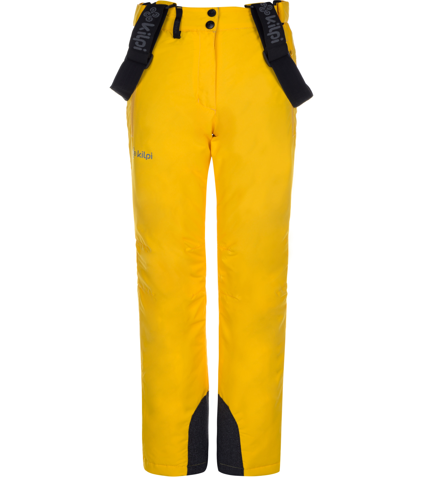 KILPI Dívčí lyžařské kalhoty ELARE-JG LJ0007KIYEL Žlutá 134