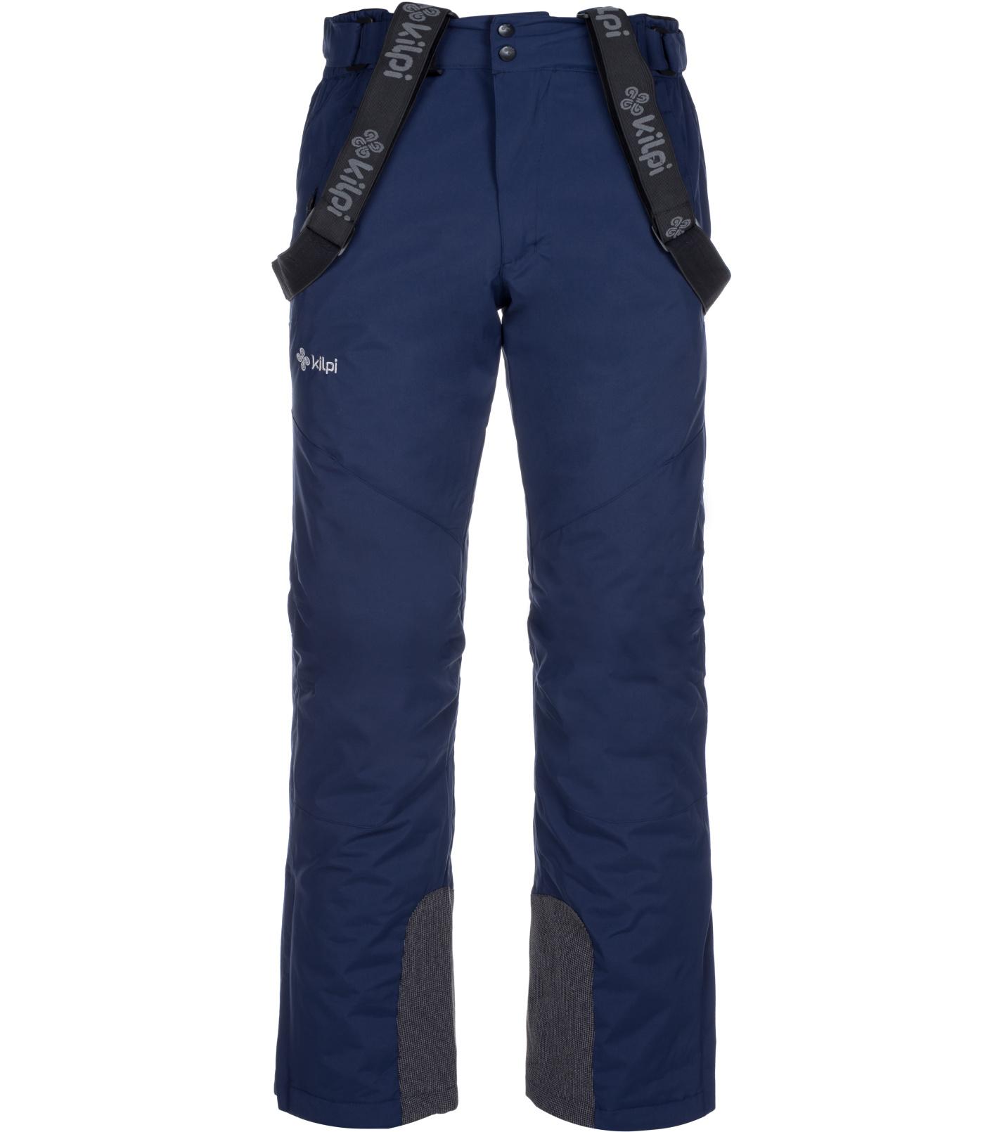 KILPI Pánské lyžařské kalhoty MIMAS-M LM0033KIDBL Tmavě modrá XL