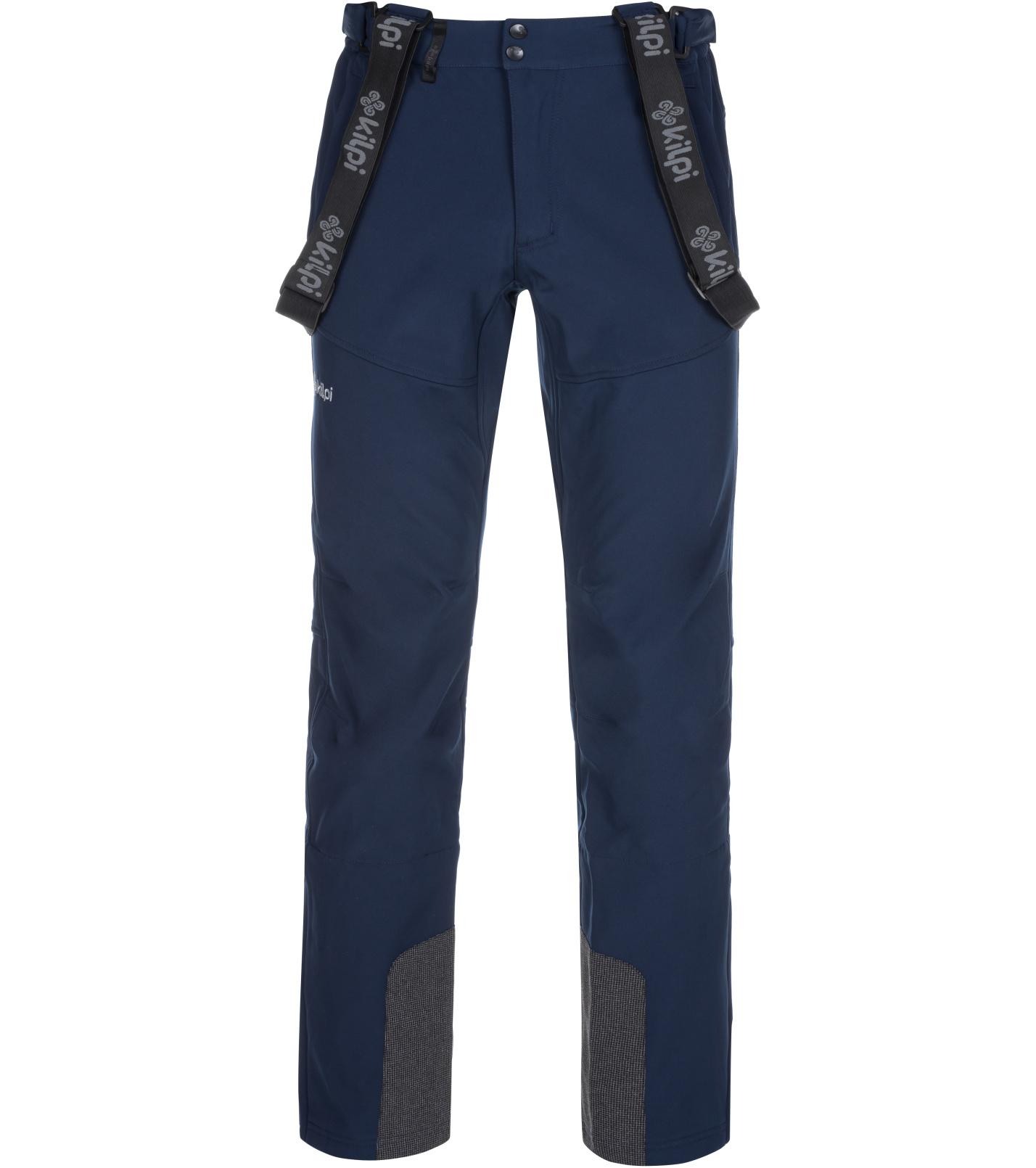 KILPI Pánské lyžařské kalhoty RHEA-M LM0034KIDBL Tmavě modrá XL