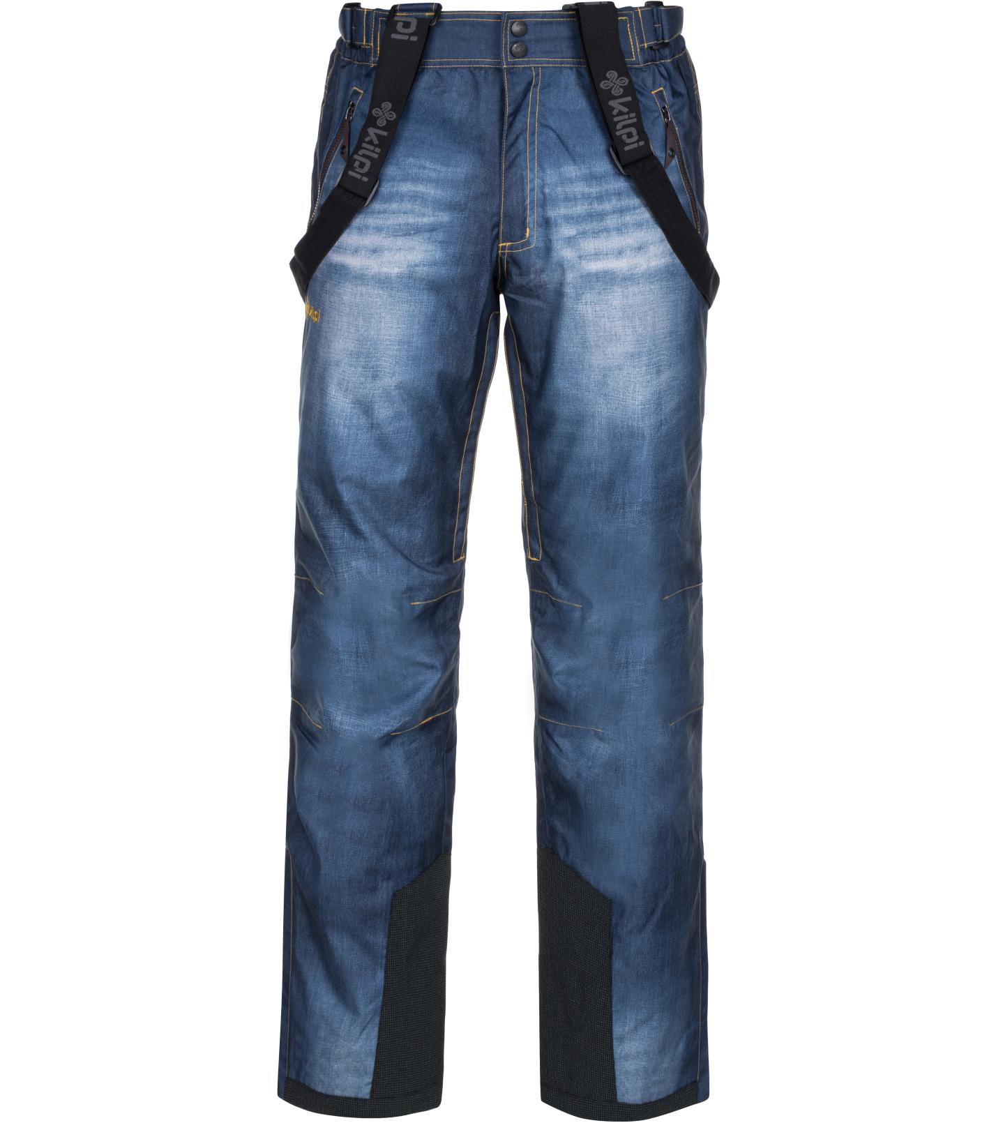 KILPI Pánské lyžařské kalhoty DENIMO-M LM0040KIBLU Modrá XL