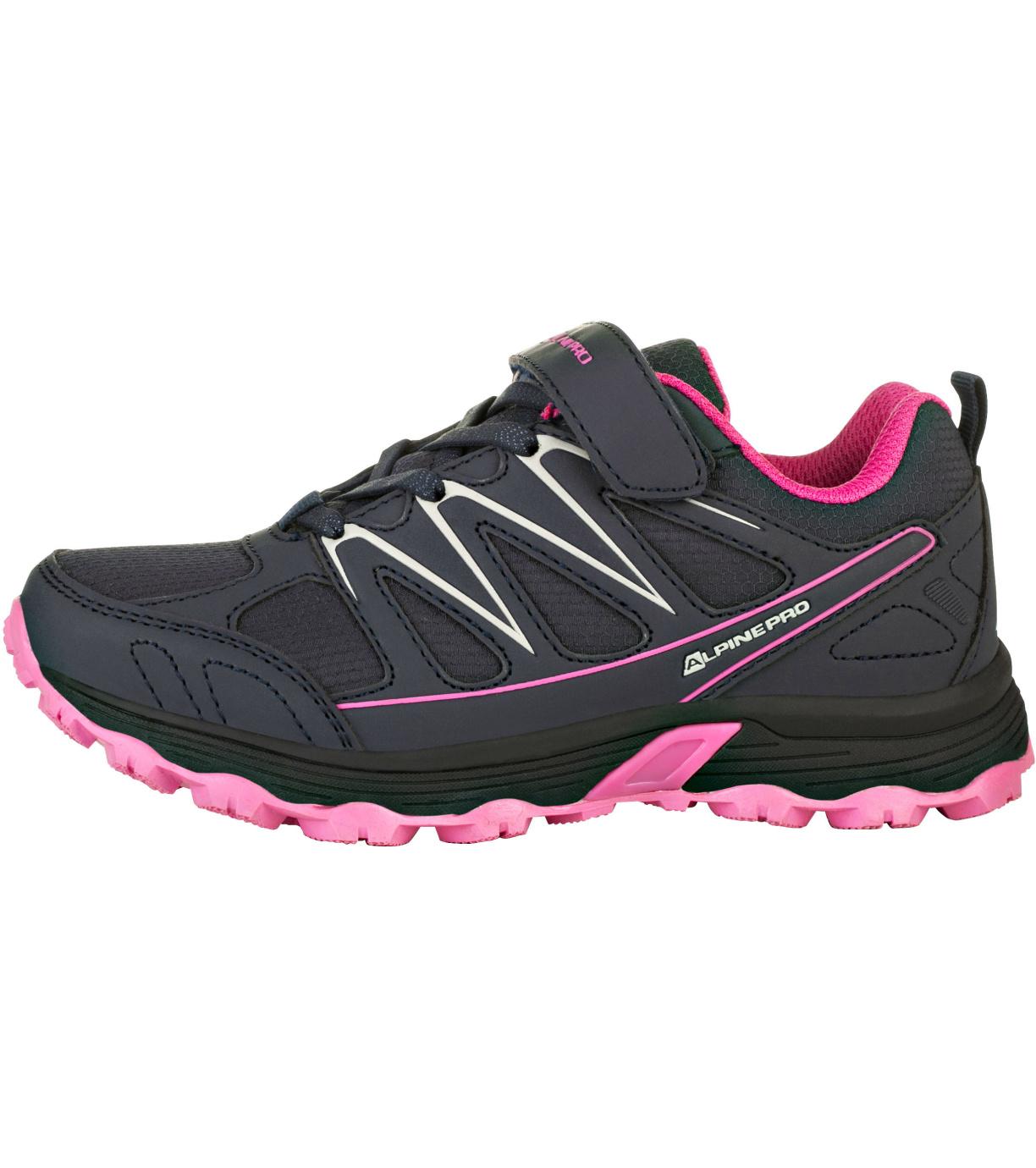 ALPINE PRO RELIUSO Dětská outdoorová obuv KBTR218452 růžová 33