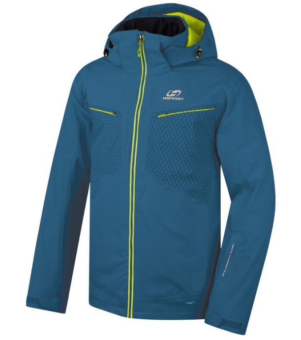 HANNAH GOETZ Pánská lyžařská bunda 217HH0002HJ02 Moroccan blue L