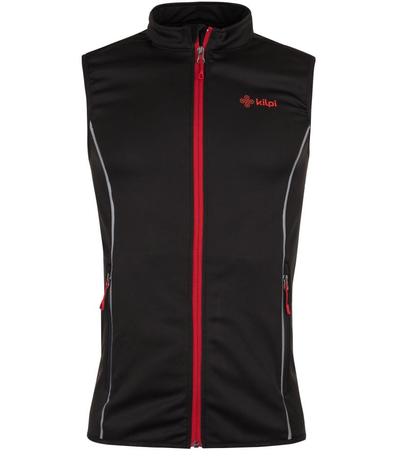 KILPI Pánská vesta s chráničem páteře PROTEC-M HM0191KIBLK Černá S