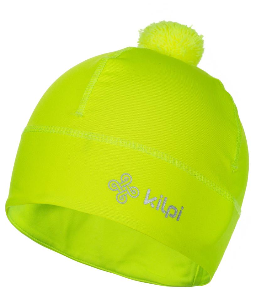 KILPI Unisex fleece čepice HOGARD-U HU0122KIYEL Žlutá