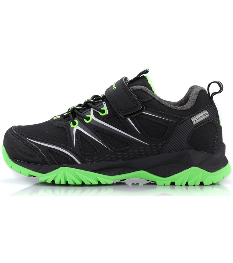 ALPINE PRO TALISH Dětská outdoorová obuv KBTK150990 černá