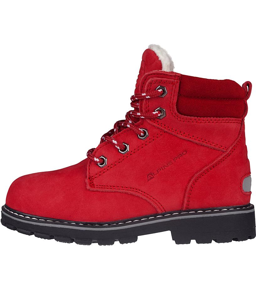 ALPINE PRO JINNY Dětská městská obuv KBTK151475 purpurový plamen 35